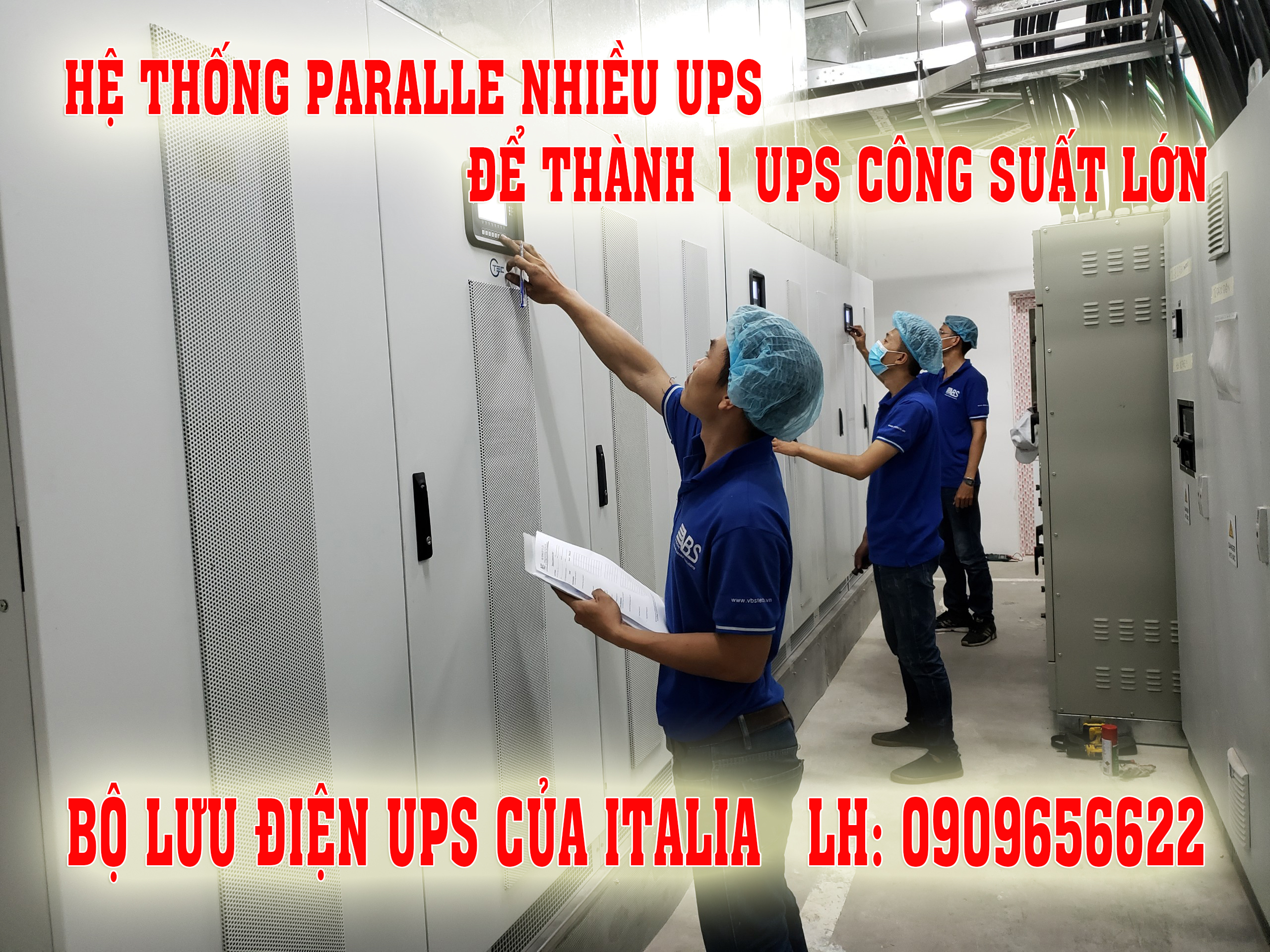 Hệ Thống UPS Paralle